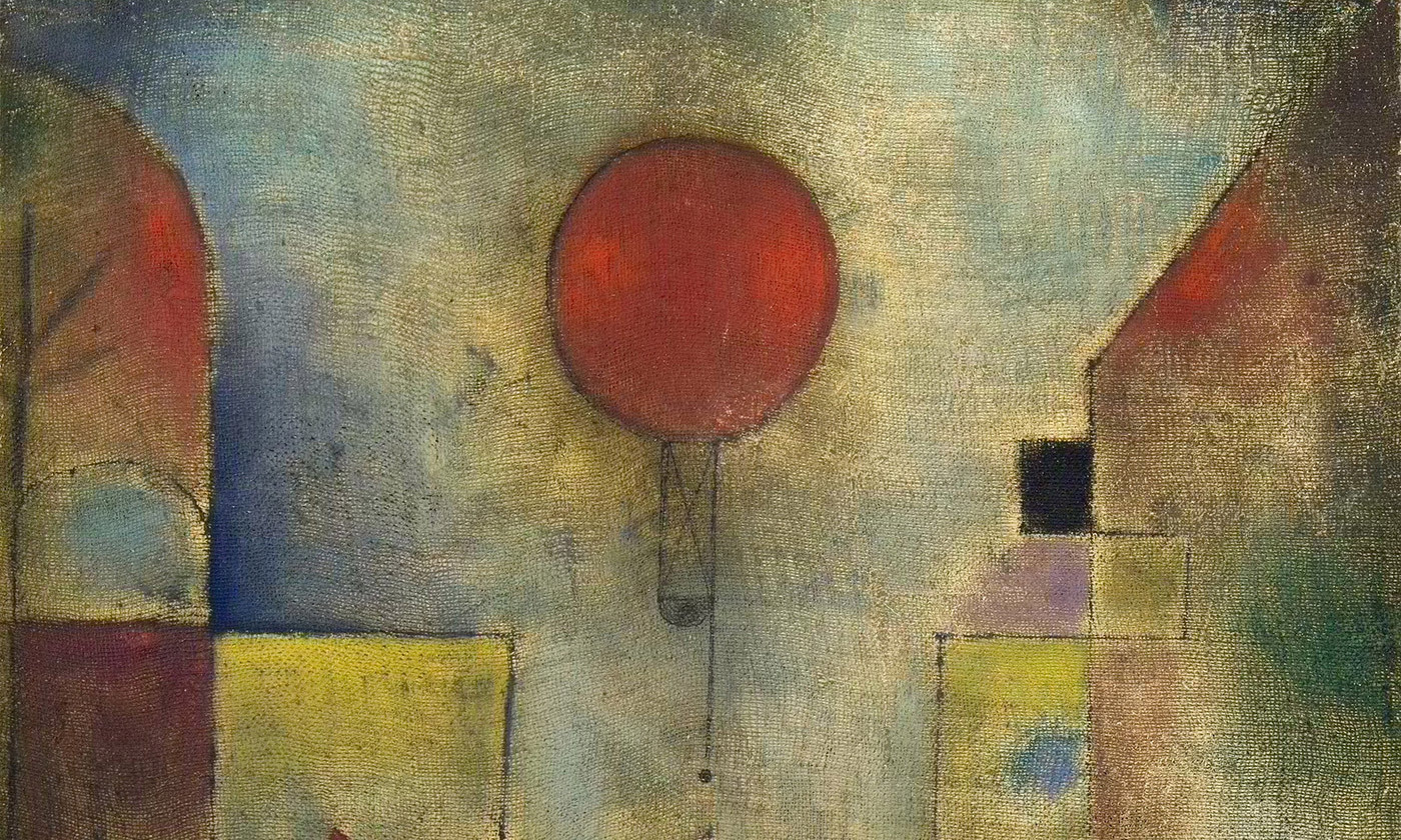 Detail from The Red Balloon Paul Klee, 1922. Courtesy Solomon R. Guggenheim Museum, New York, Credit: Wikimedia